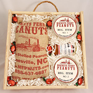 Premium Snack Gifts in Wooden Boxes